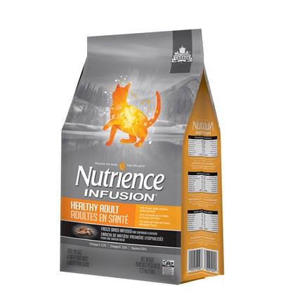 뉴트리언스 인퓨전 헬씨 캣 어덜트 2.27kg 고양이 사료, 1개