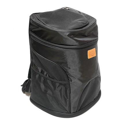 아이앤엘 강아지 원통형 가방, 블랙