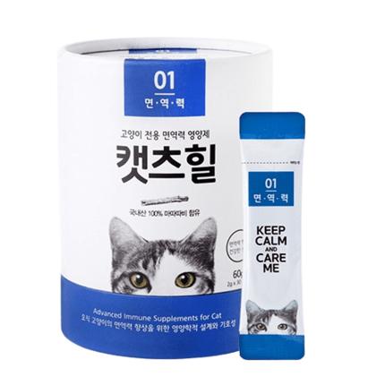 캣츠힐 면역력 고양이 전용 영양제 30p, 락토페린, 30개