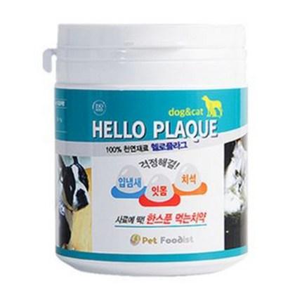 펫푸디스트 헬로플라그 반려동물 입냄새 잇몸영양제 40g, 해초, 1개