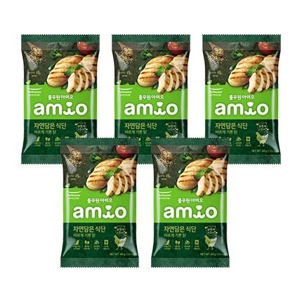 아미오 전연령 자연담은 식단 강아지 건식사료, 200g, 닭(40g*5개)