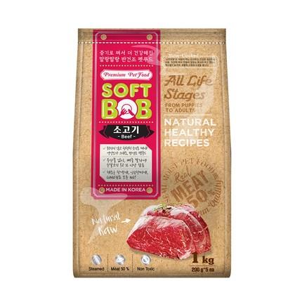 소프트밥 전연령 증기로 찐 사료, 소, 1kg
