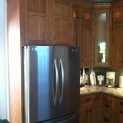 Inset Kitchen Cabinets Furniture Stores White Oak Craftsman | Thumbnail Design And ...