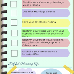 1 Month Before Wedding Planning Checklist  Visually