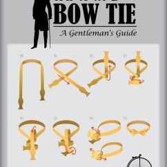 How To Tie A Bow Step By Diagram Sorting Shapes Venn Worksheet Gentleman S Guide Tying Visual Ly Infographic