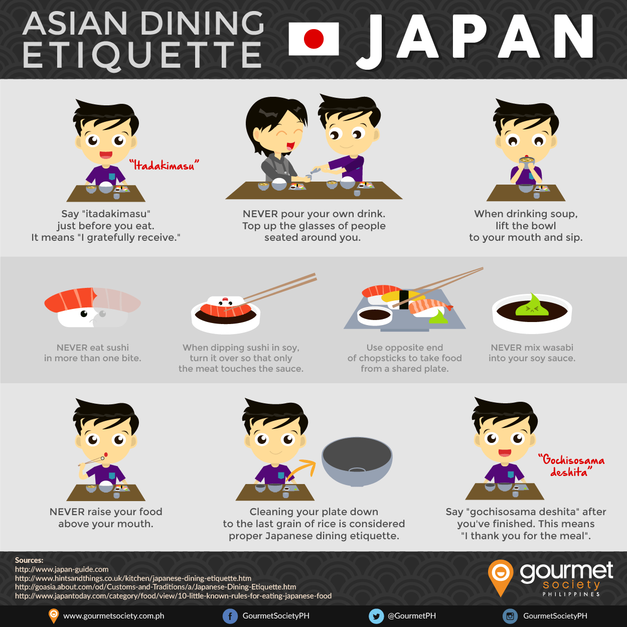 10 Important Table Manners When Eating Japanese Food