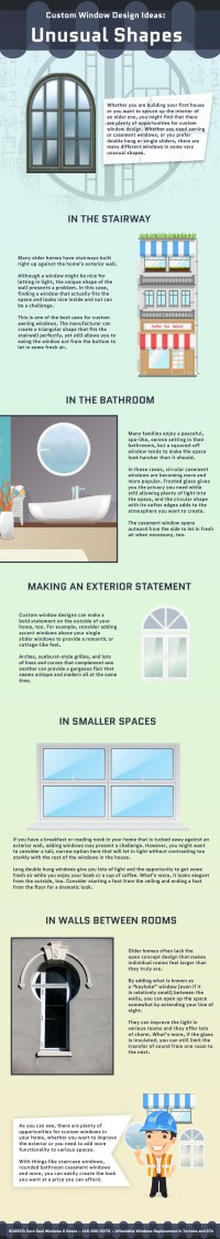 Custom Window Design Ideas: Unusual Shapes | Visual.ly