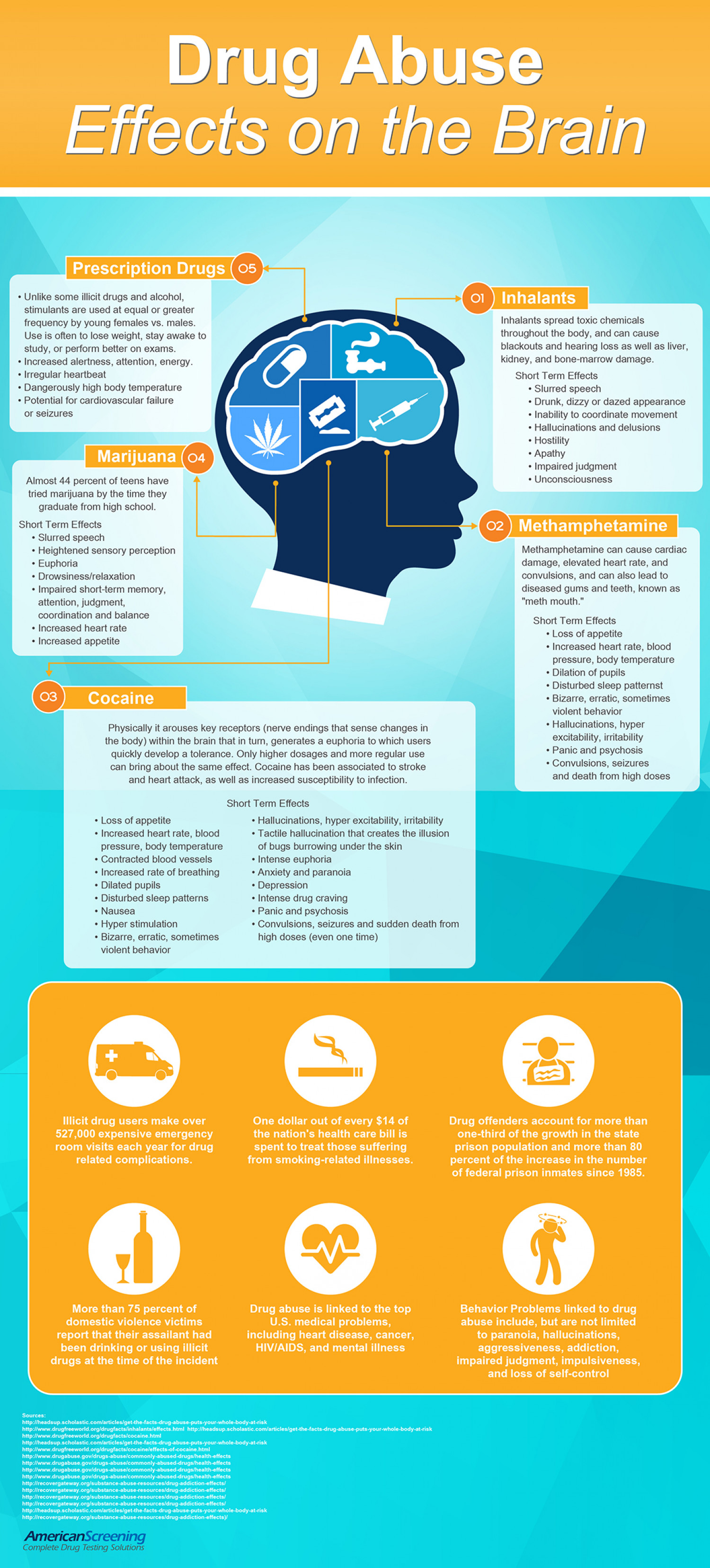 Drug Abuse Effects On The Brain