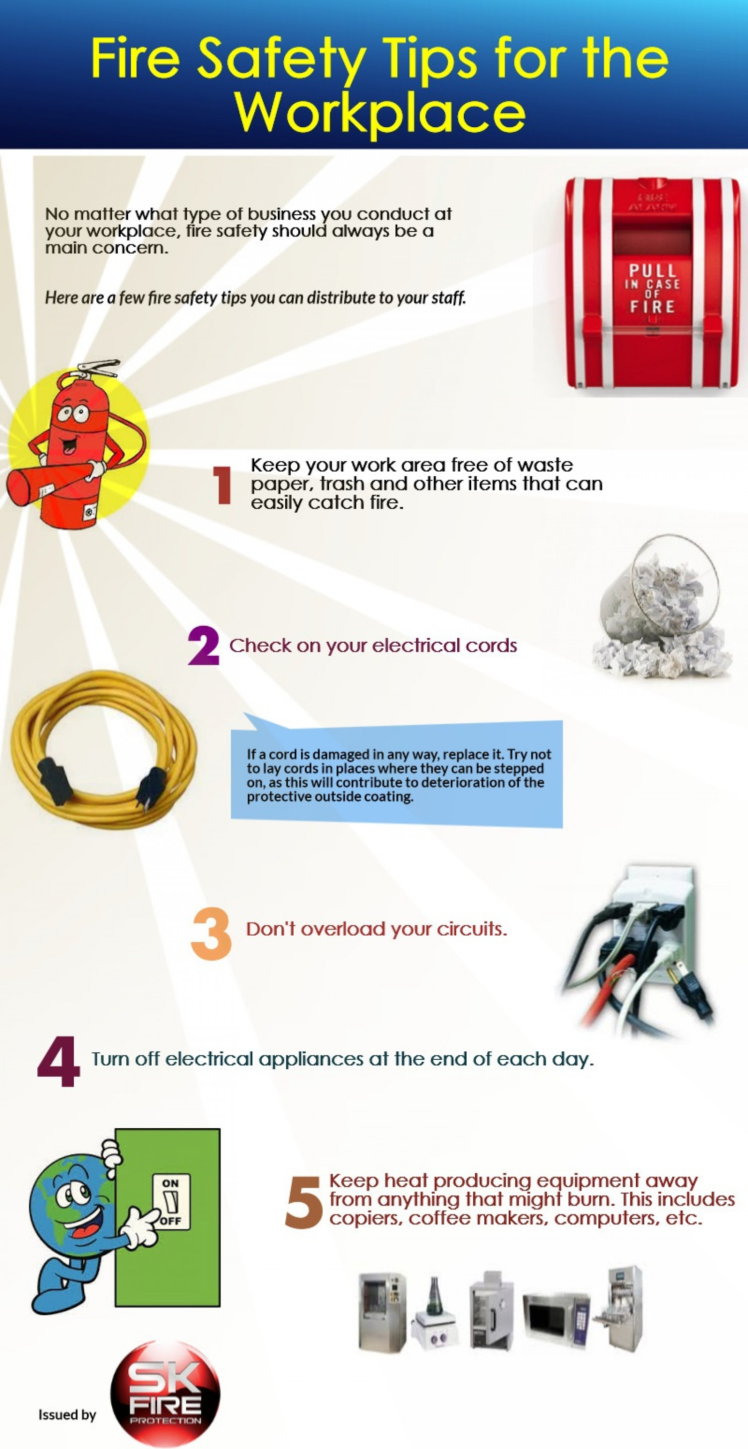 Fire Safety Tips For The Workplace