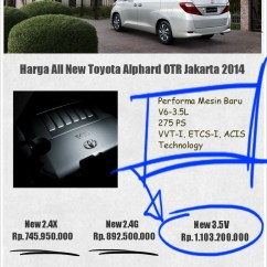 All New Alphard 2018 Harga Agya Trd Black 2014 Html Autos Weblog