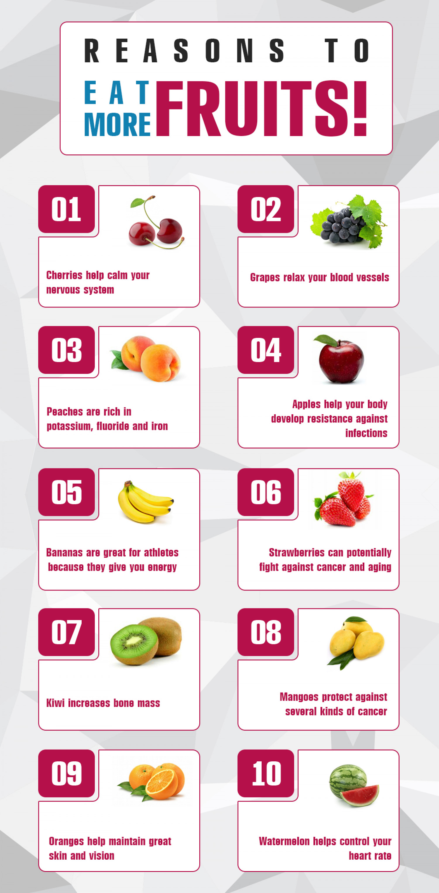 Health And Nutrition Benefits Of Fruit