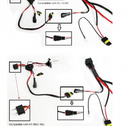 How To Install Relay Harness For HID Conversion Kit