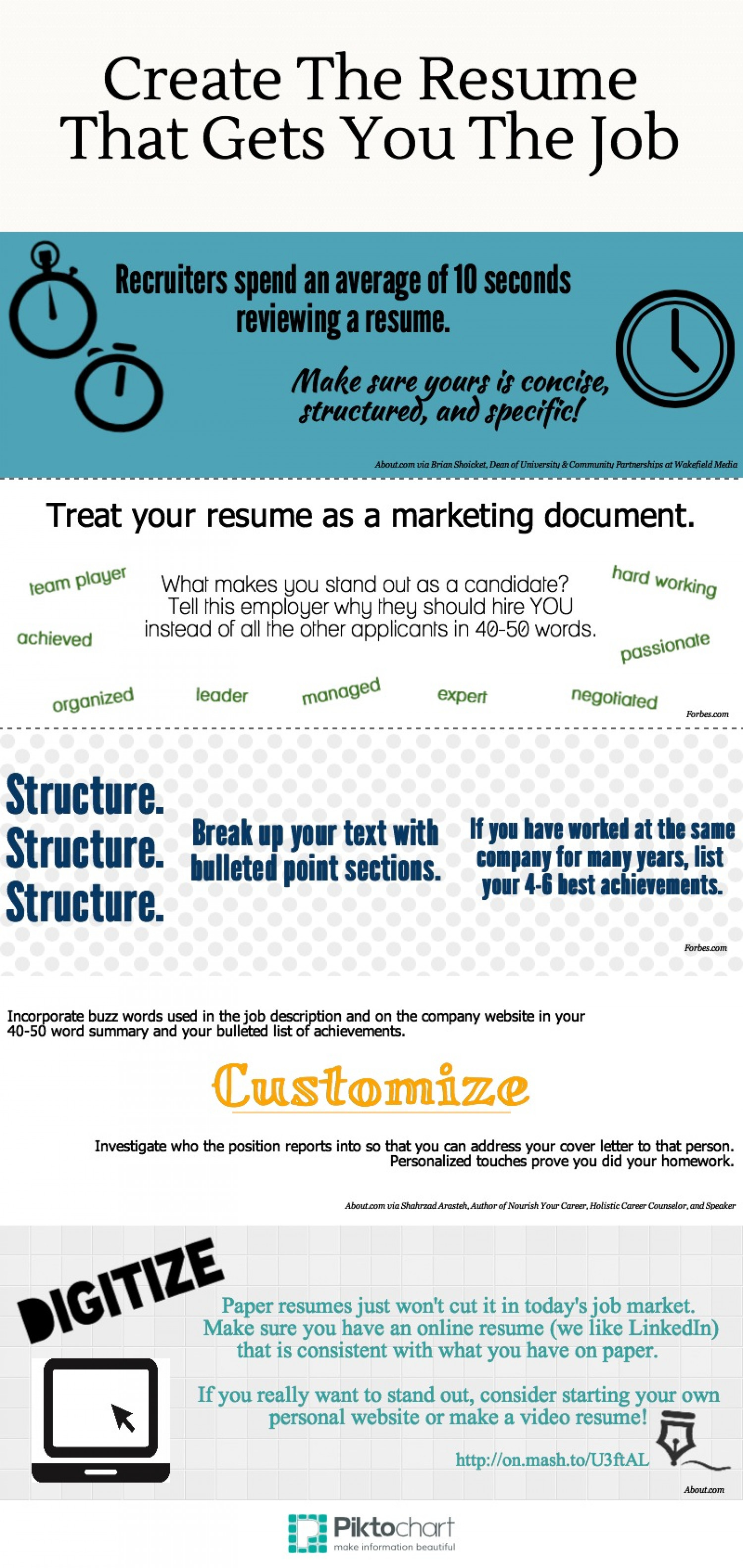 How To Make A Teacher Resume Stand Out How To Make Your Resume Stand Out Visual Ly