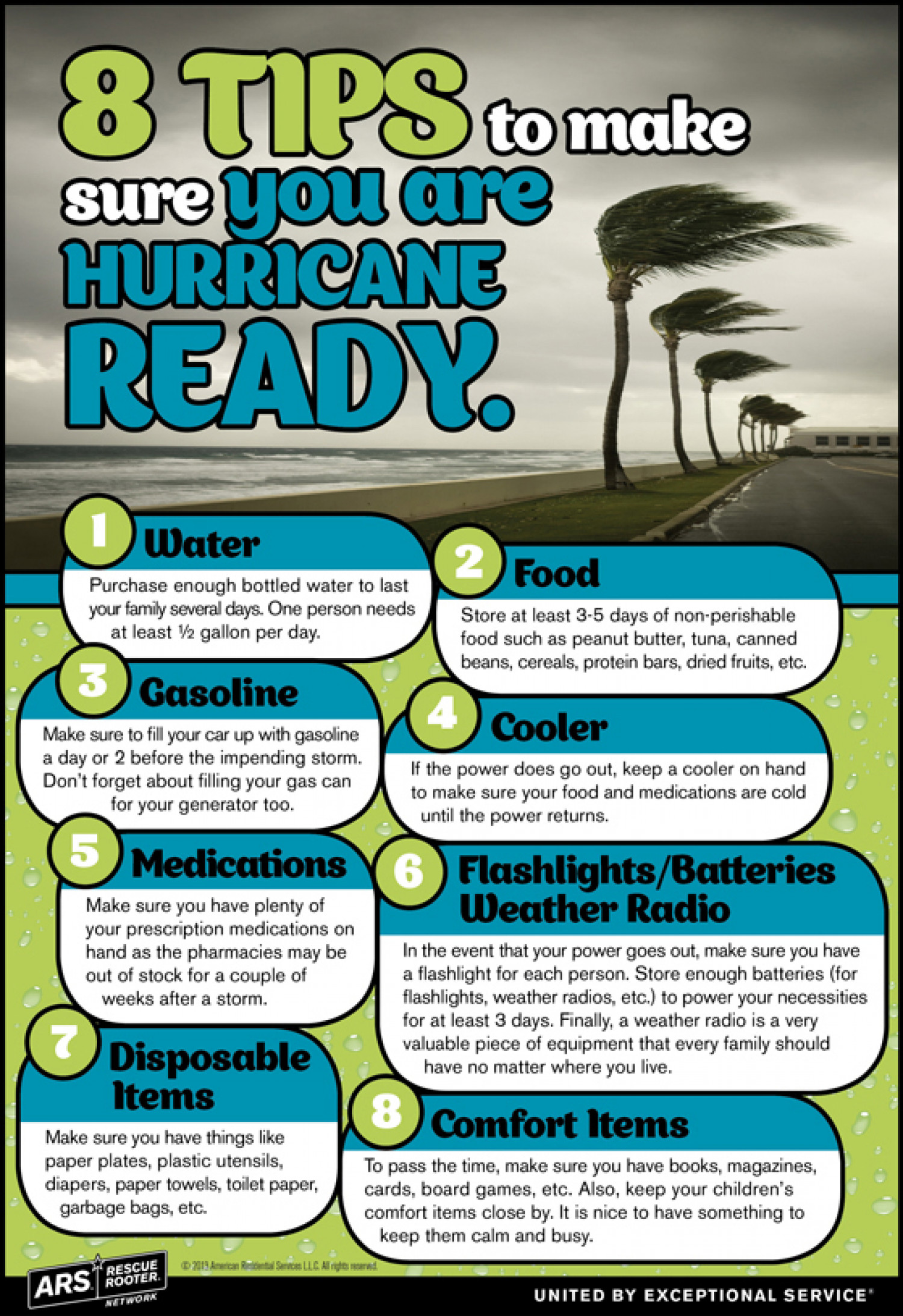 8 Tips To Make Sure You Re Hurricane Ready Infograph