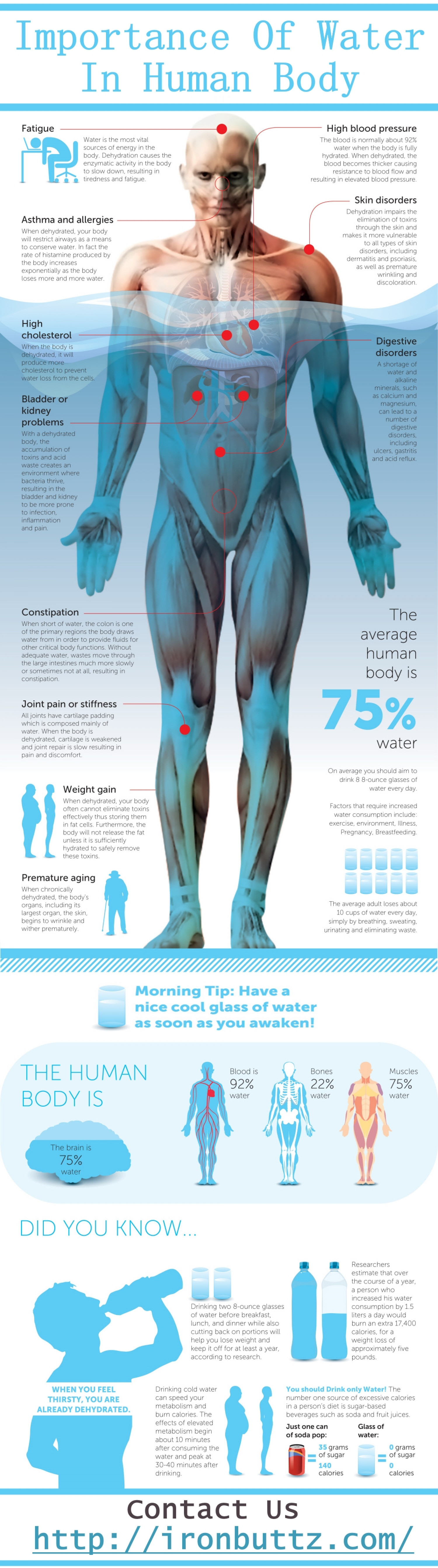 Importance Of Water In Human Body