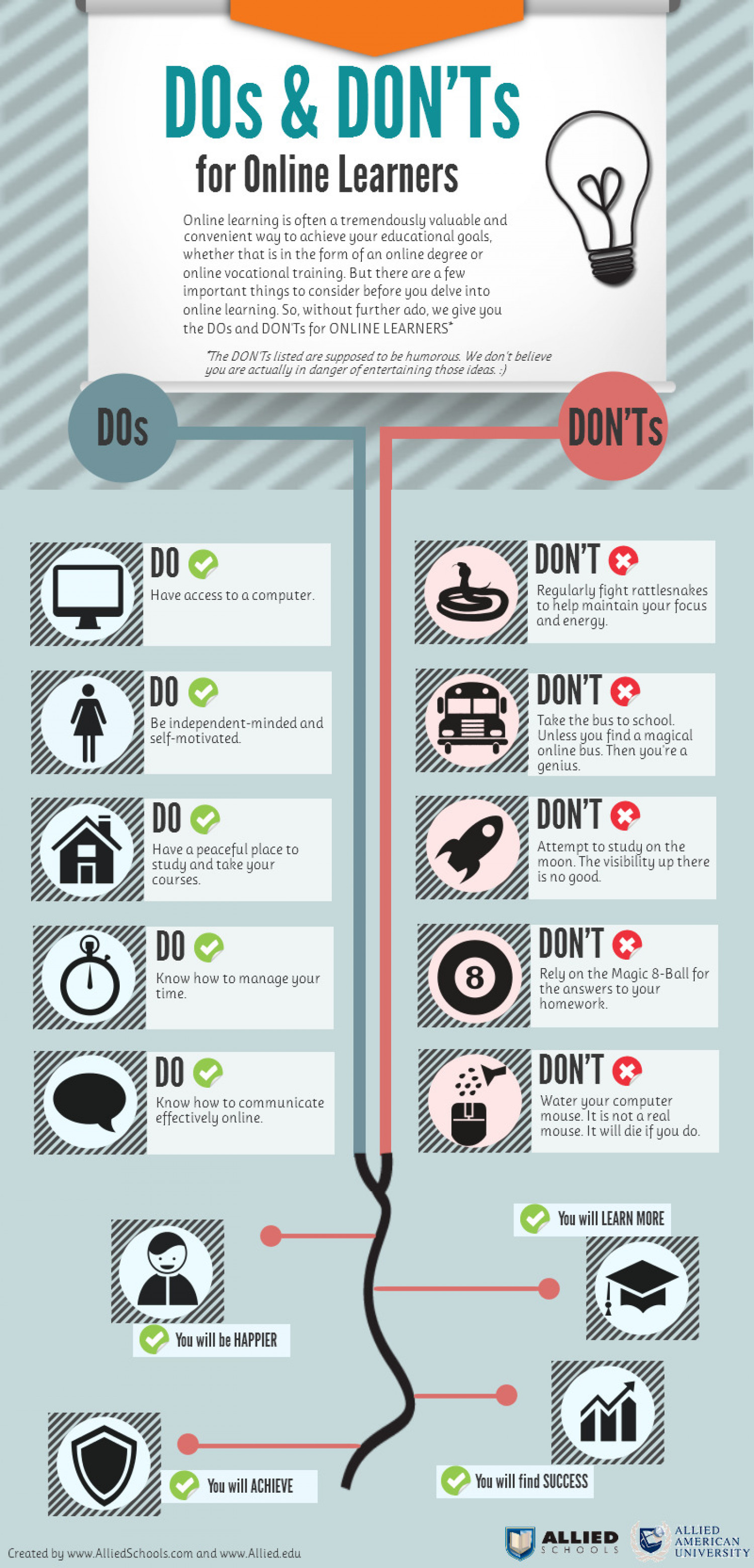 The Dos And Don Ts For Online Learners