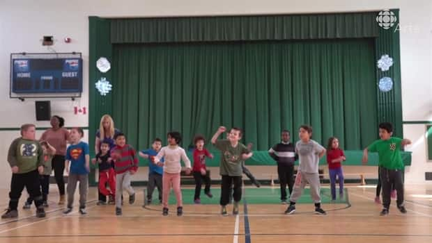 Cut loose footloose with kids from the Alberta School for