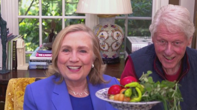Watch The Late Late Show with James Corden: What's Growing In The Clintons'  Garden? - Full show on CBS