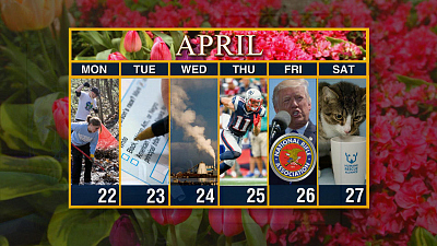 Sunday Morning - Calendar: Week of April 22