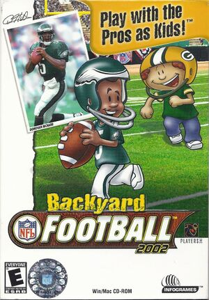 Backyard Football 2002 Pcgamingwiki Pcgw Bugs Fixes Crashes Mods Guides And Improvements For Every Pc Game