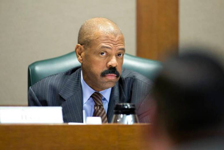 State Sen. Borris Miles on Tuesday called the historical monument bill disgraceful.