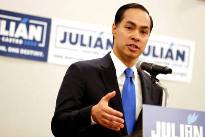 Democratic presidential candidate Julián Castro says he accomplished his goal for Wednesday's debate.