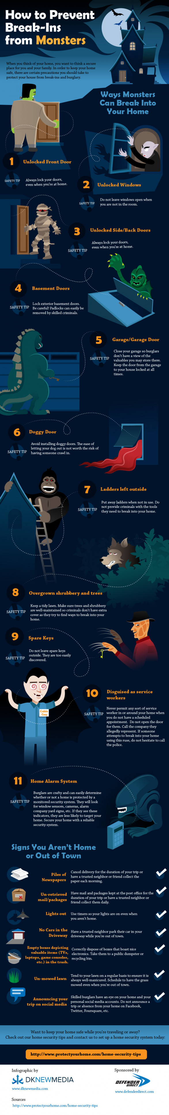 How to Prevent Break-Ins from Monsters