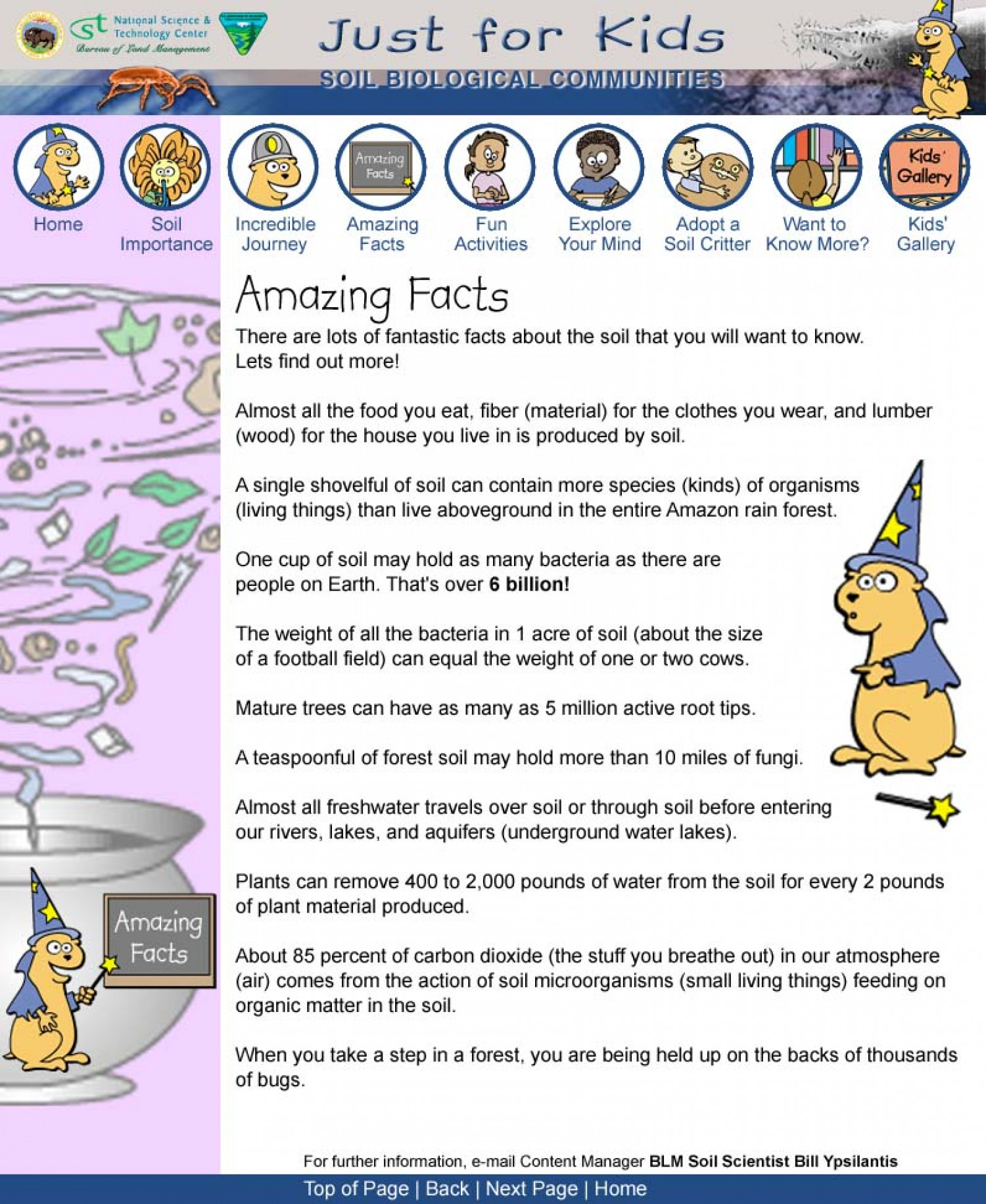Just For Kids Amazing Facts