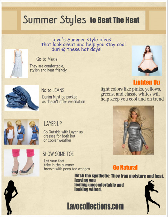 Summer Styles Ideas to Beat The Heat