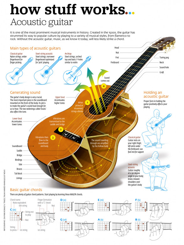 Know Your Guitar Guitar Anatomy Mamamusicians