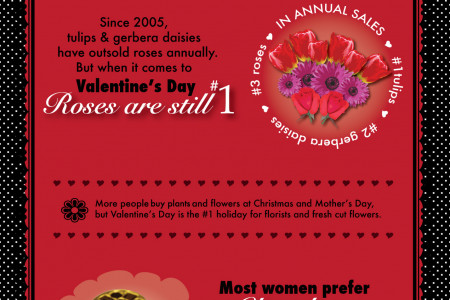 Valentine's Day Facts & Figures Infographic