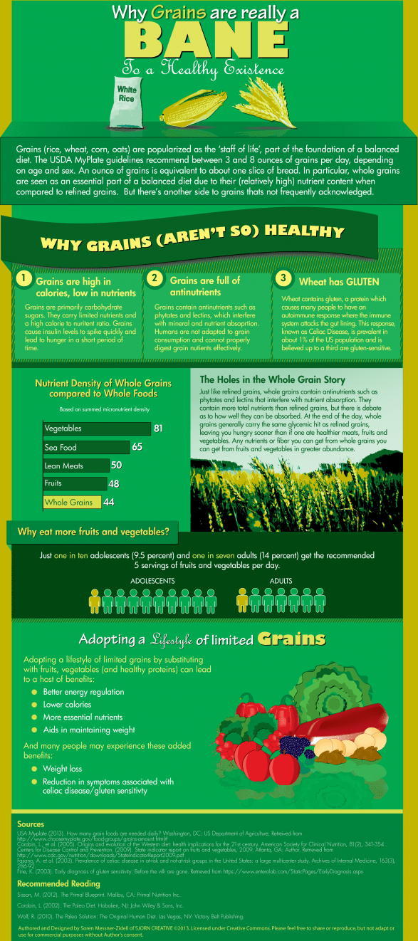 Why Grains Are Really A Bane To A Healthy Existence