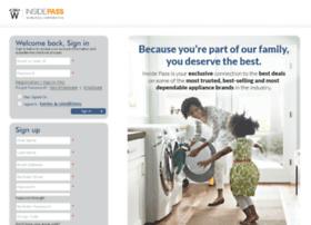 partnerswhirlpoolcom at WI Whirlpool Inside Pass Program by Whirlpool Corporation