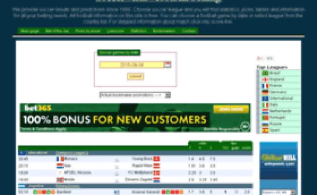 soccervista-soccerresults predictions and betting picks