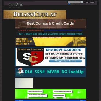 Cvv Carding Sites