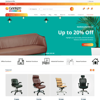 geeken revolving chair air design jasper morrison in at wi seating collection pvt ltd office chairs thumbnail
