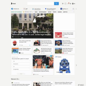 msn.es at WI. Hotmail. Outlook. noticias y horóscopo en MSN España y Microsoft News
