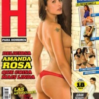Amanda Rosa Da Silva - H Para Hombres Lingerie, Topless Photoshoot | HQ