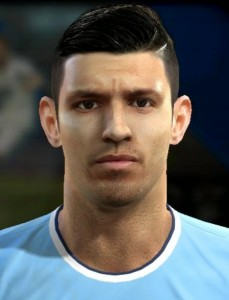 Sergio Agero PES 2013 Face By MagicPro PES Patch