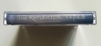 The Reflektor Tapes cassette - top view
