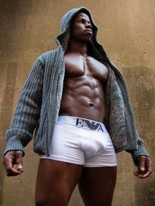 bulges in sweatpants