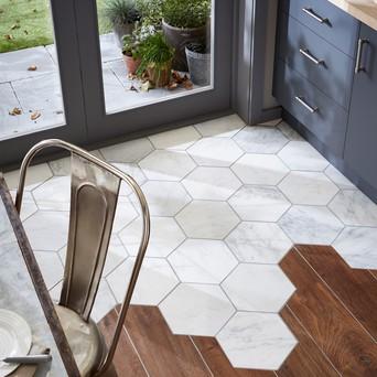 hexagonal tiles for floors topps tiles