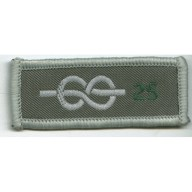 25 Yrs Chief Scout's Service Award Cloth Badge