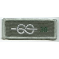 30 Yrs Chief Scout's Service Award Cloth Badge