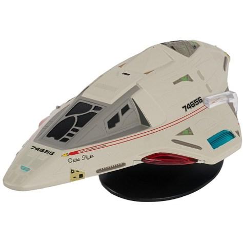 Delta Flyer XL Starship   Star Trek Official Starships Collection