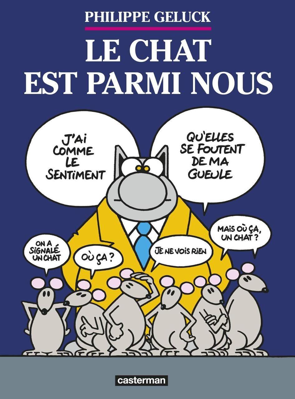 Le Chat Geluck Citations Retraite : geluck, citations, retraite, Geluck, Ouvre, Tanière, «Chat», Parisien