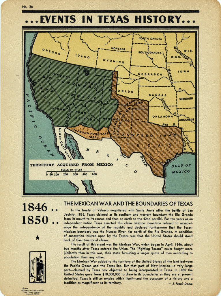 Is Texas Part Of The South : texas, south, U.S.-Mexico, Border, Where, Today?, Curious, Texas, History