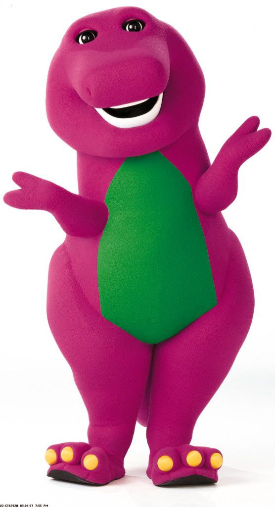 Barney & Friends If The Shoe Fits : barney, friends, Where's, Barney, Actor, Played, Purple, Dinosaur, Tantric, Therapist