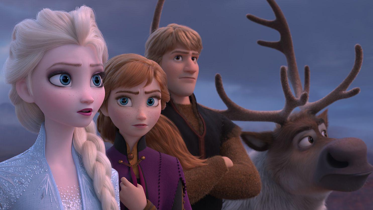 The Icy Magic Doesn T Crack In Disney S Frozen Ii The Boston Globe