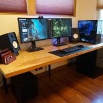 Save Hundreds Of Dollars On A Custom Computer Desk By Building It Yourself Popular Science